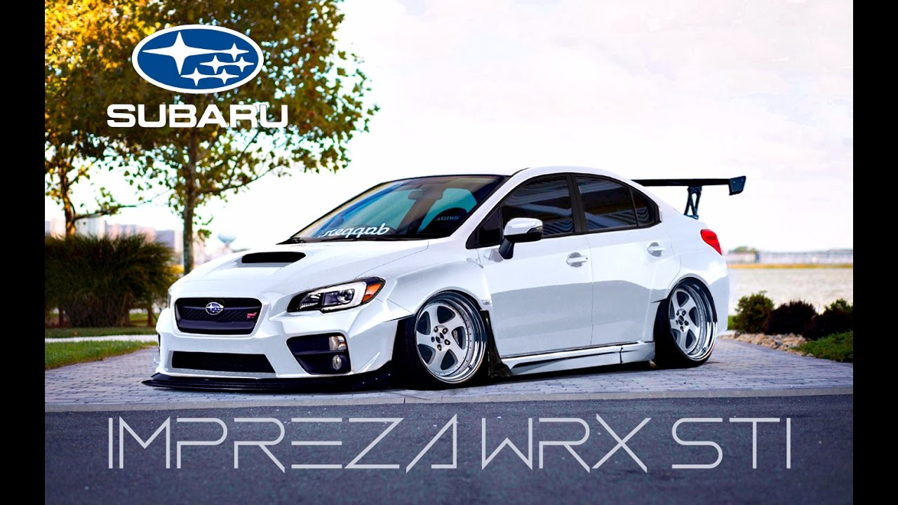 virtual tuning subaru impreza wrx sti photoshop youtube. Black Bedroom Furniture Sets. Home Design Ideas