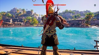 Assassin's Creed Odyssey - Keos - Open World Free Roam Gameplay (PC HD) [1080p60FPS]