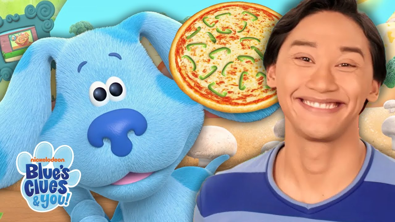 Blue Skidoo's Into Pizza World 🍕 ! | Blue's Clues & You