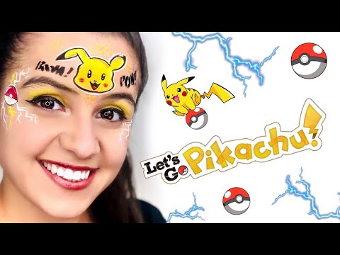 EASY and Cute Pikachu Face Paint Tutorial