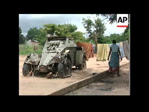 ANGOLA: UN CHIEF RECOMMENDS MILITARY OBSERVERS LEAVE COUNTRY