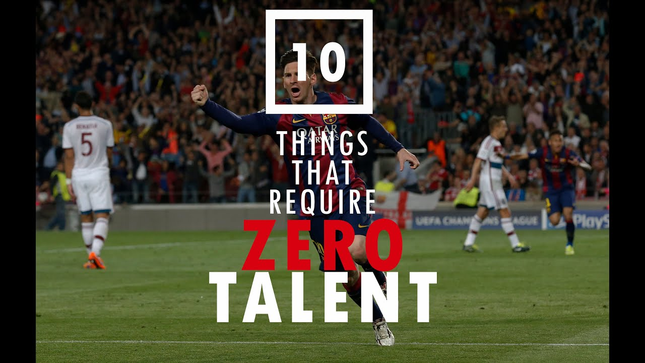 10 Things That Require Zero Talent Youtube