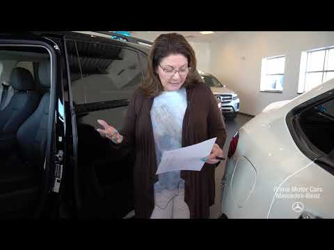 2020 Mercedes-Benz GLE350 video tour with Tina
