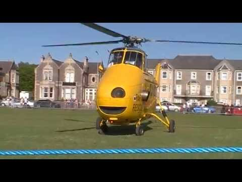 Westland Whirlwind Departing Weston Air Festival 2014