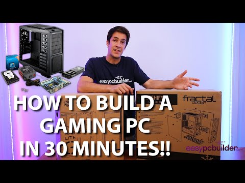 How to build a computer in 30 minutes with EasyPCbuilder! -