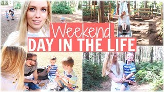 A SUNNY WEEKEND DAY IN THE LIFE - MUM OF TWO | Alex Gladwin