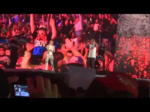 Machine Gun Kelly - Invincible & John Cena Intro (Wrestlemania 28)