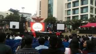 Scintillation2014-RJ Prithvi makes a Stunning Entry-Scintillation2014!!!