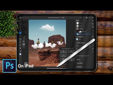 How To Import PSD File On Photoshop CC On IPad Pro With IPadOS 13