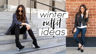WINTER OUTFIT IDEAS 2018 ♡