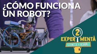 Cómo funciona un robot | Experimenta, ciencia de niñ@s