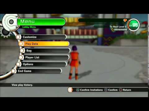 Dragonball Xenoverse PS3 - Modding/Cheat/Hack Gameplay