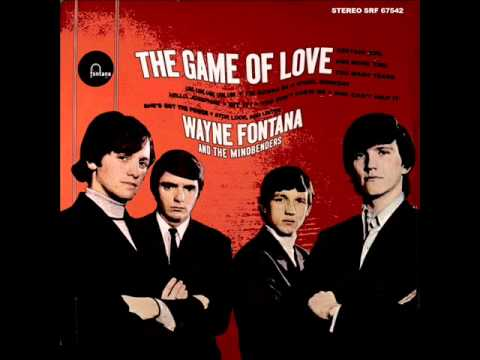 The Game of Love (2015 Reissue Version) Stereo LP - Wayne Fontana and The Mindbenders