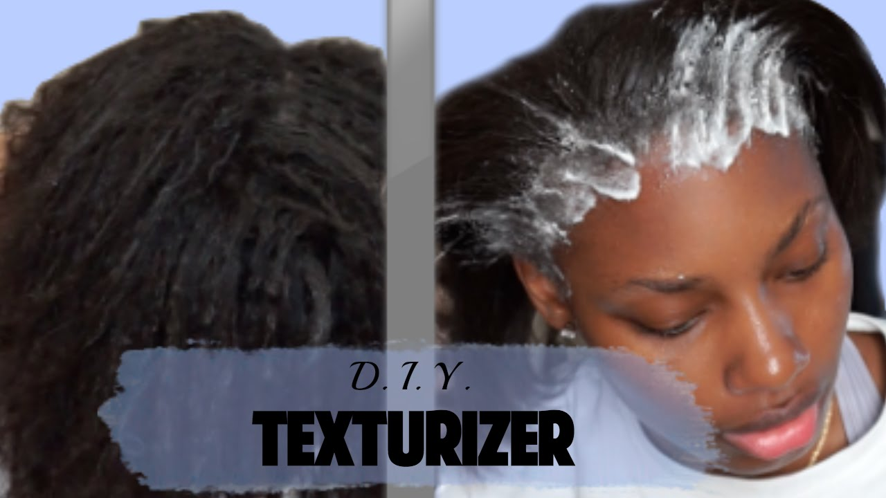 Texturizer on 4c hair before and after