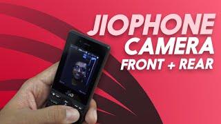 Jio Phone Camera - Front, Rear Camera Footage, 3GP Format