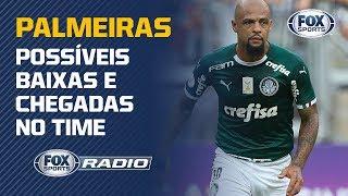 FELIPE MELO E SCARPA DE SAÍDA? Veja possíveis baixas e chegadas no Palmeiras para 2020