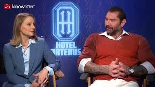 Baixar Interview Jodie Foster & Dave Bautista  HOTEL ARTEMIS