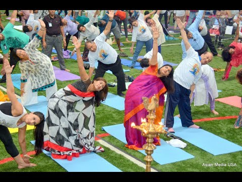 Consulate General of India, Chicago Celebrates 3rd International Day of Yoga