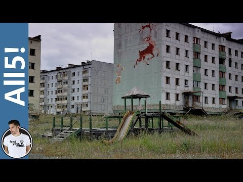 5 Creepiest Ghost Towns!