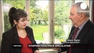 """Töpfer: """"Spekulation kann vor unserer Haustür Hungerrevolten auslösen"""""""
