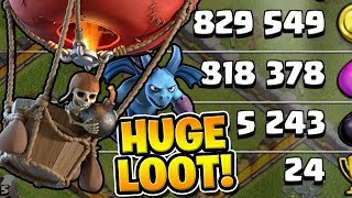 "*LOONION* GETS ALL OF THE LOOT! - Let's Play TH11 - ""Clash of Clans"""
