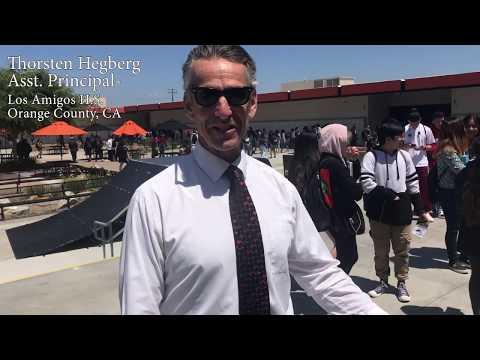 Thorston Hegberg Asst. Principal Los Amigos High School Orange County, CA