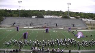 Fossil Ridge High School Regiment HEB Marching Contest 2014