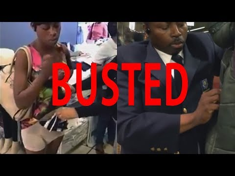 Caught Shoplifting Compilation * SUPER-SIZE BUSTED EDITION *