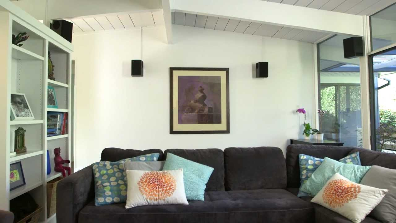 thx home theater made easy s1 e6 surround speakers youtube. Black Bedroom Furniture Sets. Home Design Ideas