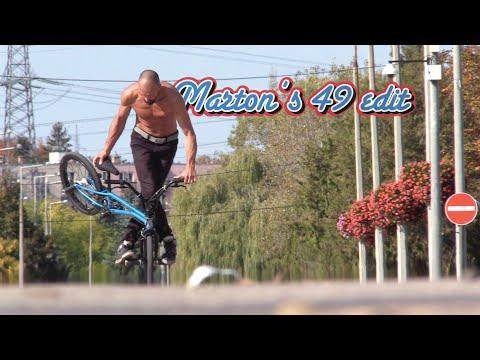Marton's 49 Edit (BMX Flatland)