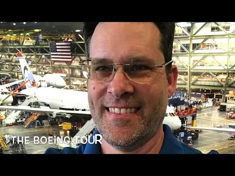 Boeing Factory & Future of Flight Centre Tour with Transport - Video