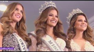 Prissila Howard: así fue su coronación como Miss Perú 2017