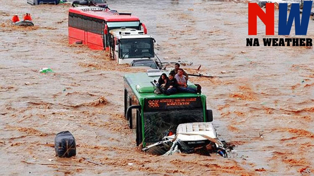 Scary Footages Monster Flash Floods In The World ▶6