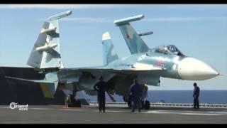 للمرة الثانية خلال أقل من شهر تحطم طائرة أثناء هبوطها على متن حاملة الطائرات الأدميرال كوزنيتسوف