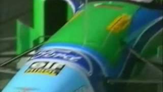 JJ Lehto Testing Crash Silverstone 1994