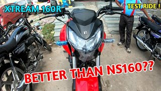 Hero Xtream 160R BS6 Review | Test Ride | Better Than NS 160 BS6 ???