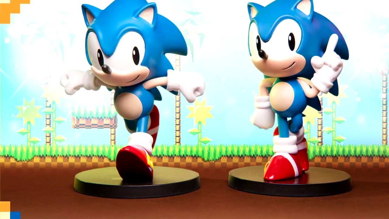 Sonic The Hedgehog New Boom8 Series Figures Youtube