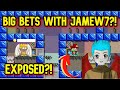PLAYING BIG BETS WITH JAMEW7!! | CASINO#7 | Growtopia