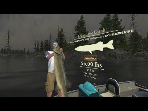 Rapala Pro Series Fishing : Where The Legendary Northern Pike Spawns On Rainy Lake