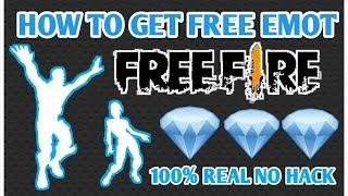 HOW TO GET FREE EMOT IN FREE FIRE    HOW TO GET FREE DIAMONDS IN FREE FIRE   HINDI  