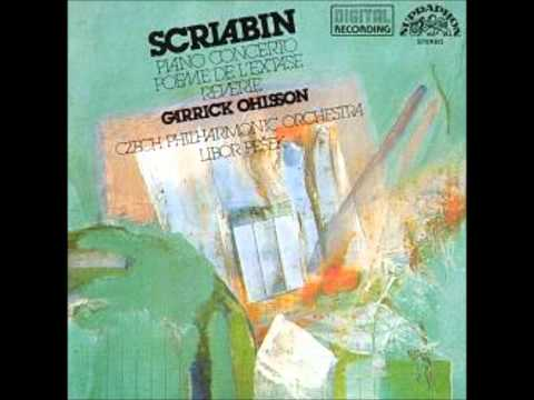 Alexander Scriabin- Piano Concerto in F-sharp minor, op. 20 [Garrick Ohlsson]