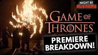 Winterfell Will Burn? | Game of Thrones 8x01 Spoiler Review and Easter Eggs