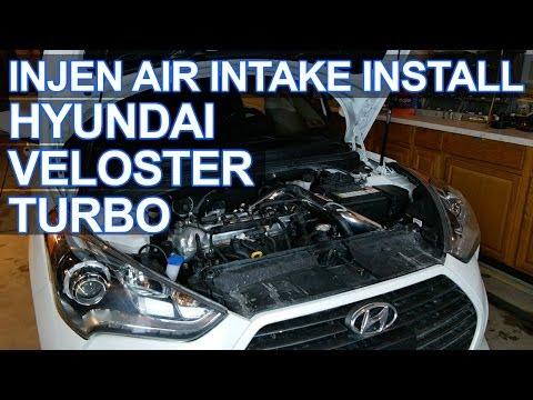 Injen Intake Install Hyundai Veloster Turbo