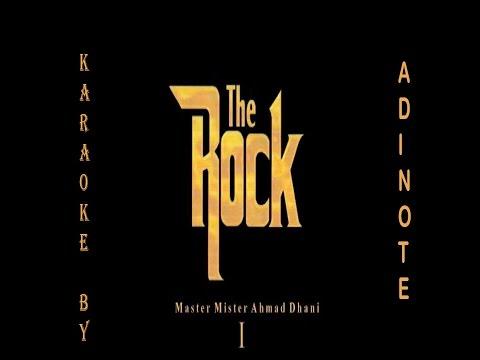 The Rock - Munajat Cinta (Karaoke / Cover Instruments by AdieNote)