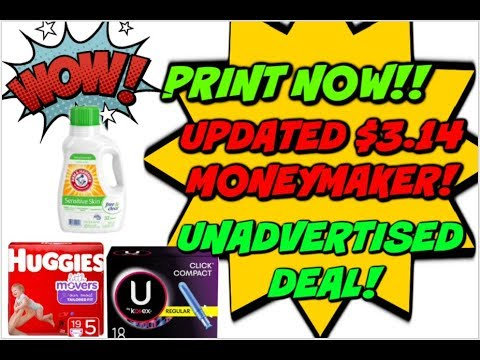 PRINT NOW |  🔥 $3.14 MONEYMAKER & NEW PRINTABLE COUPONS!
