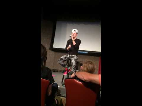 "JoshuaDTV singing ""Thank You California"" at Comedy Works in Colorado 5/22/16"
