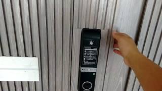 Fechadura Biometrica Prisma F901 sem maçanetas