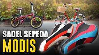 Sadel Sepeda Lipat dan Minion