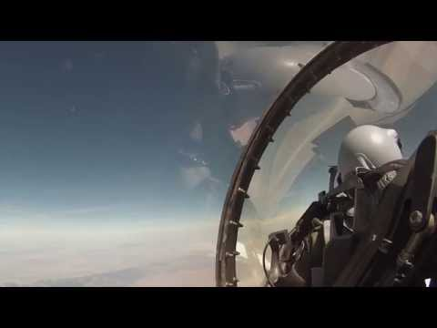 United States Air Force F-16 Falcon Cockpit Video 2