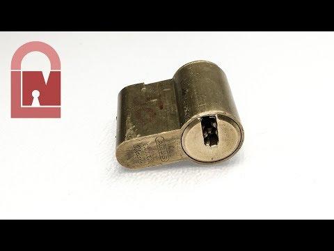 Взлом отмычками ABUS   (494) ABUS Extra Classe Euro Dimple Lock Pick and Gut